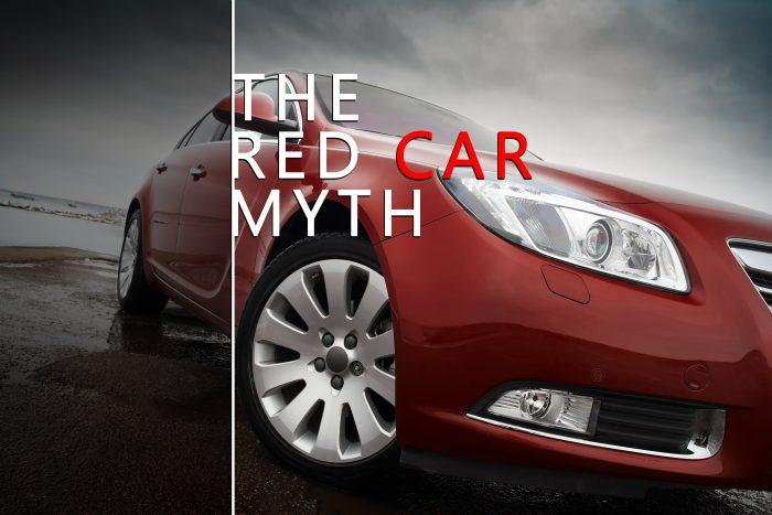 Red Car Insurance Myth Or