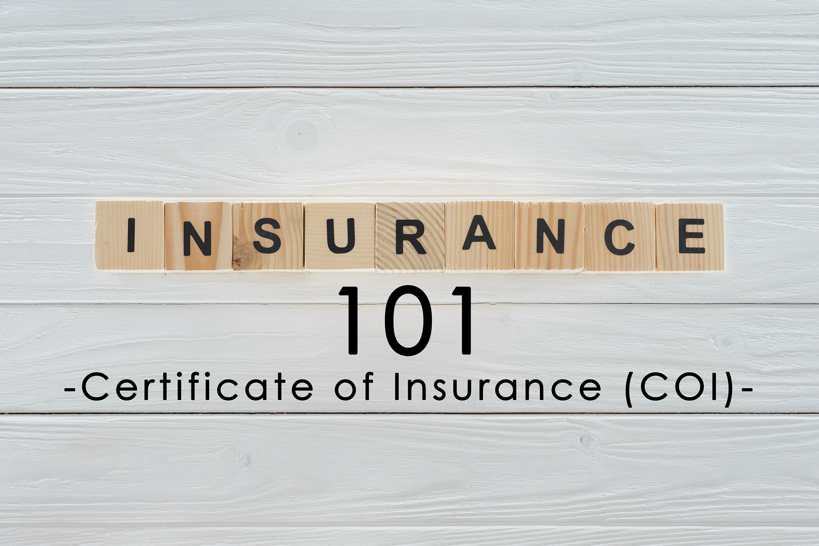 Insurance Term of the Day: Certificate of Insurance (COI ...