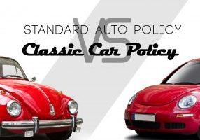 Standard Auto Policy Vs. Classic Car Policy